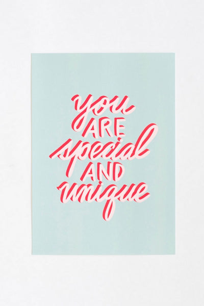Affiche You Are Special - jonesie