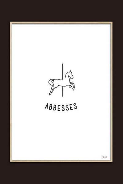 Affiches Abbesses-fere