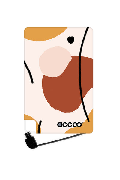 Abstract Autumn Batterie Externe S ACCOO