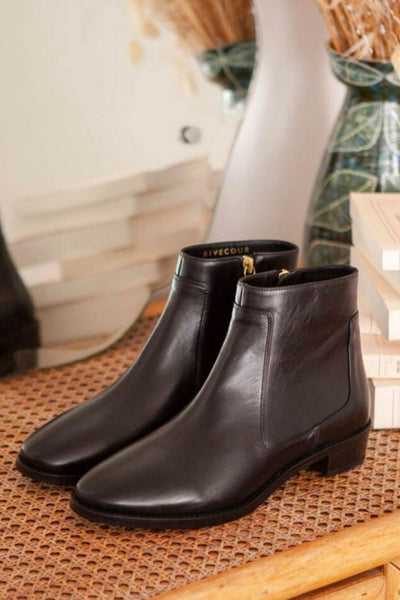 Bottines 67 noir - Rivecour