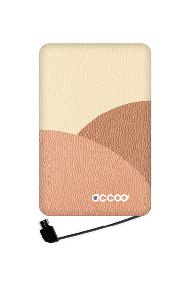 Cloud leather batterie externe M ACCOO