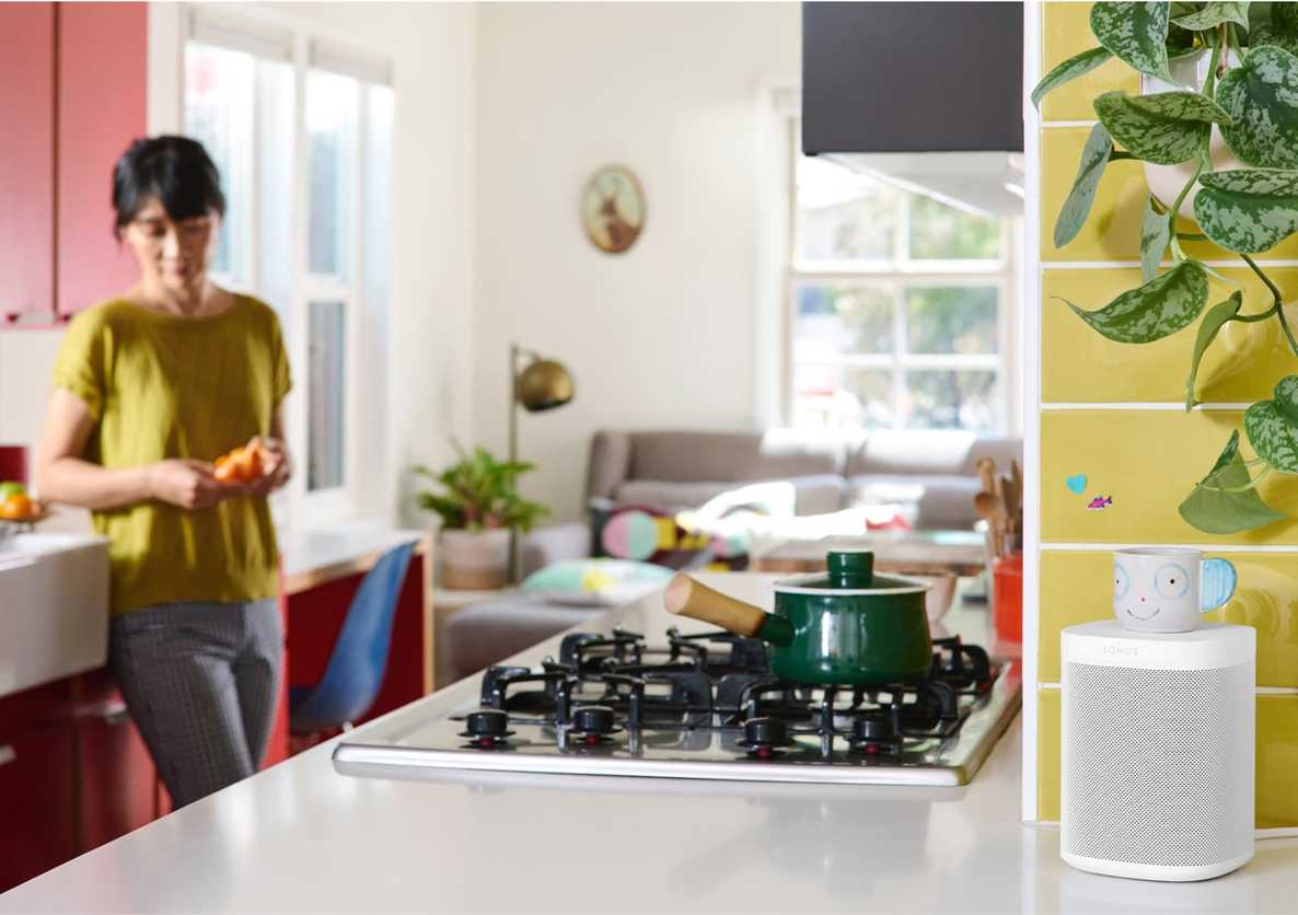 Image result for sonos one kitchen""