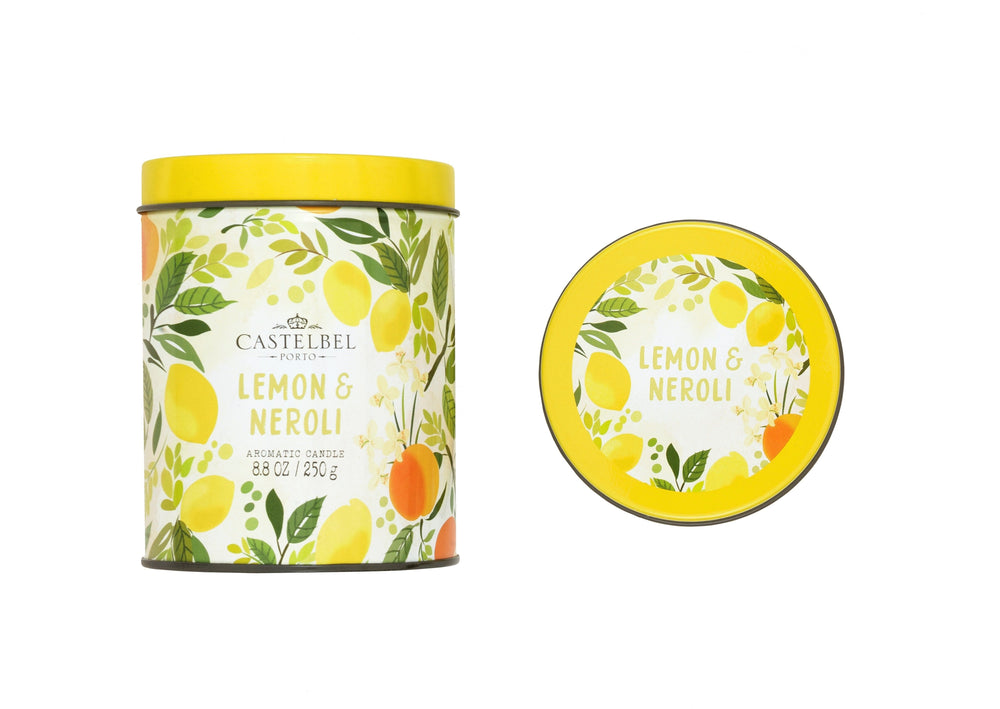 Vela Fruits & Flowers Lemon & Neroli Candle