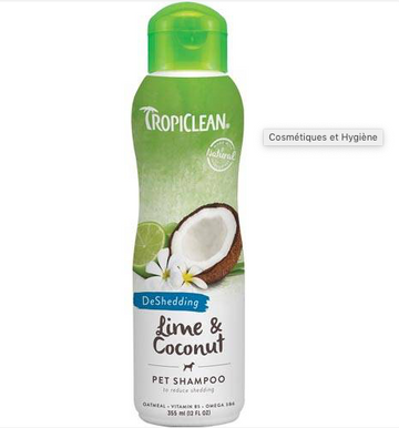SHAMPOING ANTI MUE CHIEN CHAT TROPICLEAN