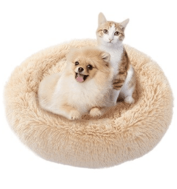 Panier rond nid douillet chien chat