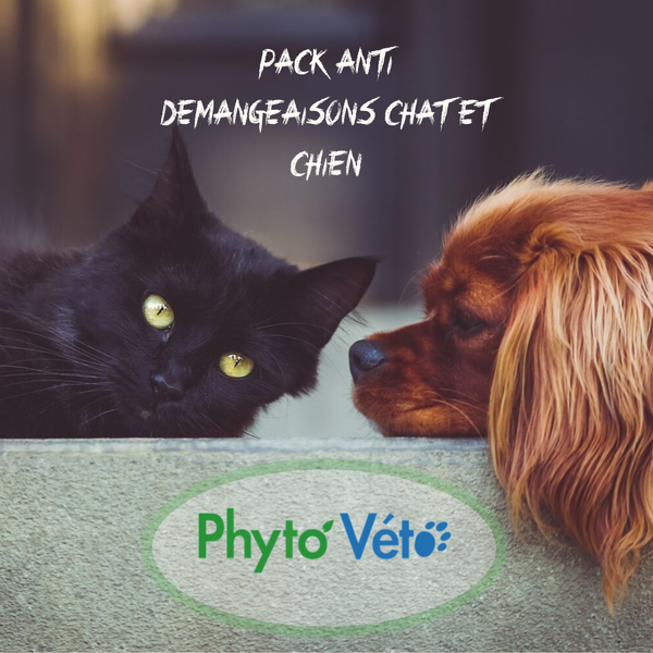 Pack Anti Démangeaison Chat & Chien