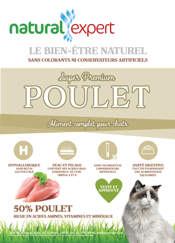 SUPER PREMIUM Poulet Chat 7,5kg
