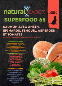SUPER FOOD 65% Saumon chien 12kg
