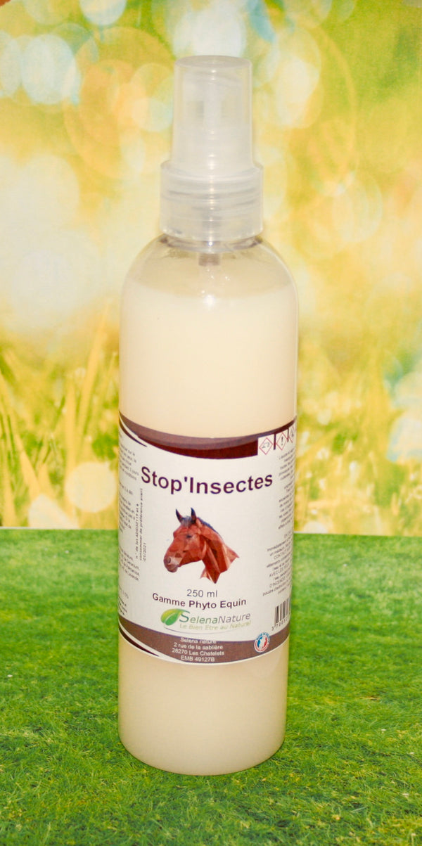 STOP INSECTES CHEVAL