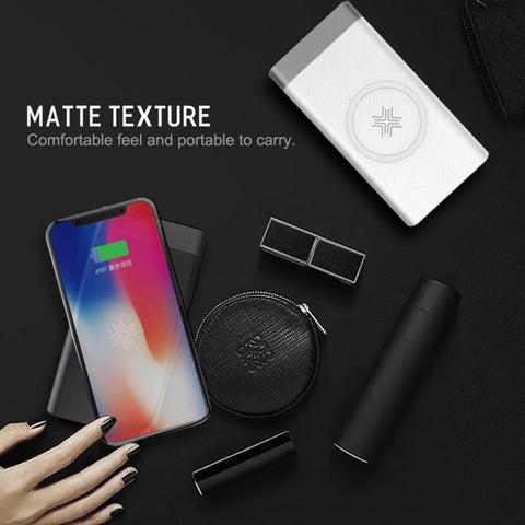 ROCK 10000mAh Wireless Charger Power Bank
