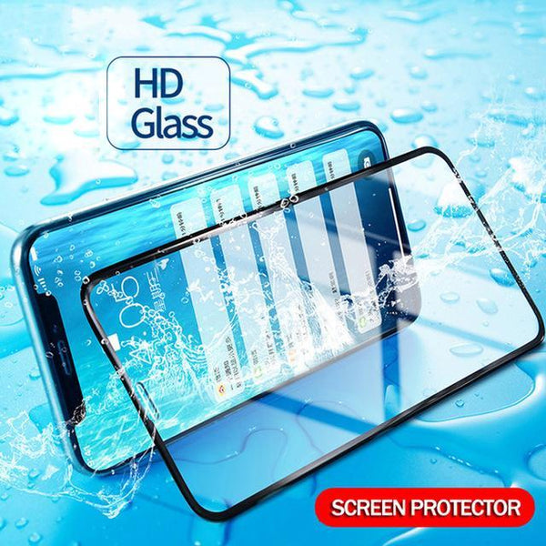 XO ® iPhone XR Full Tempered Glass Screen Protector