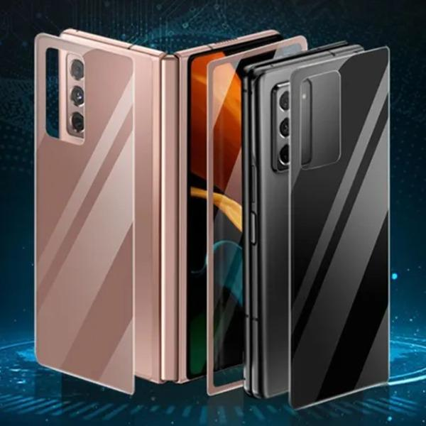 Galaxy Z Fold2 Back (Front + Back) Tempered Glass Screen Protector