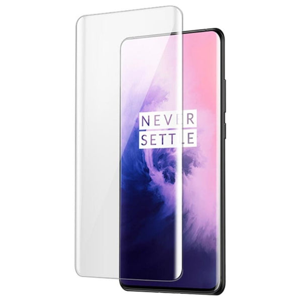 OnePlus 7 Pro (3 in 1 Combo) GKK Case + Tempered Glass + Camera Lens Guard