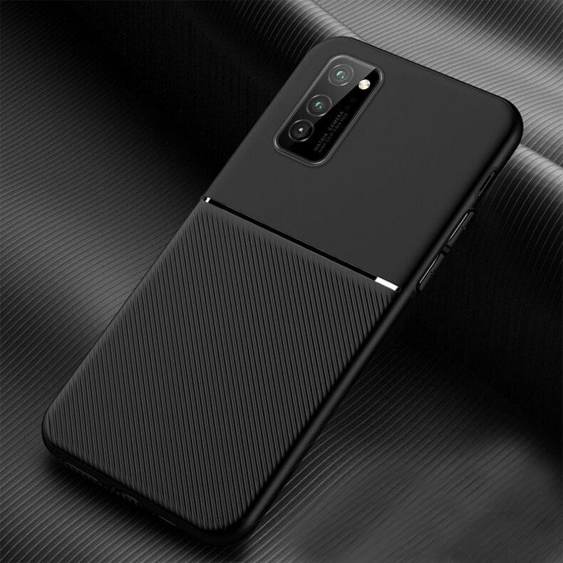 Galaxy M Series Carbon Fiber Twill Pattern Soft TPU Case
