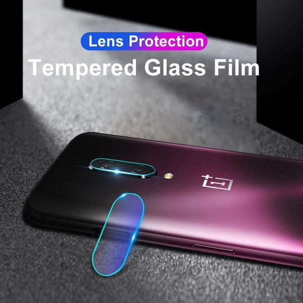 OnePlus 6 (3 in 1 Combo) Deer Pattern Case + Tempered Glass + Camera Lens Guard