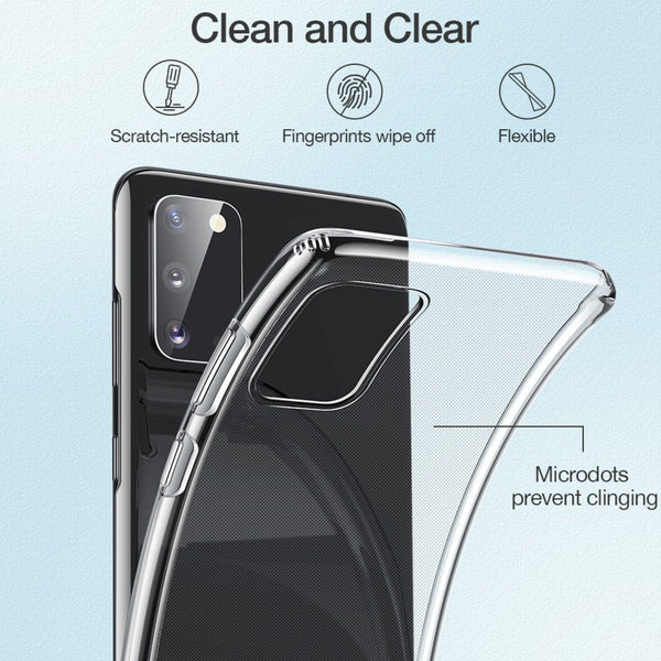 Galaxy S20 HD Clear Slim Series Protective Case