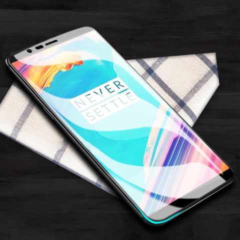 OnePlus 5T 5D Tempered Glass Screen Protector