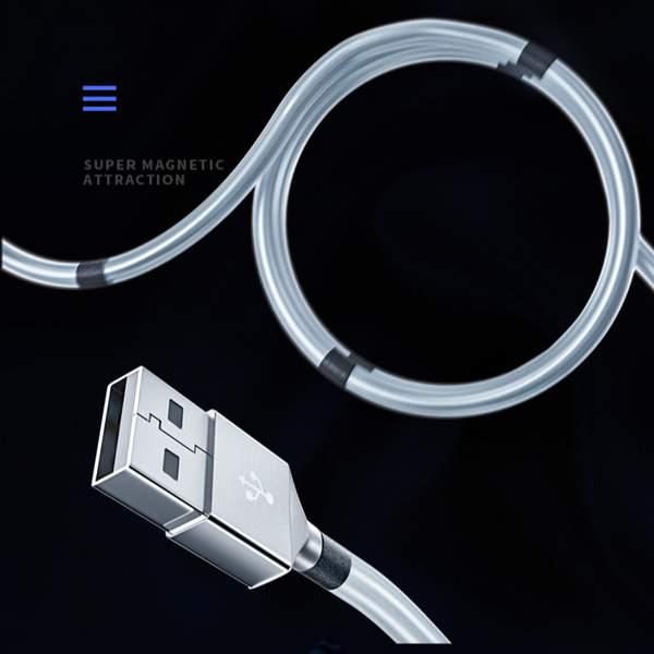 Magnetic Fold Quick Charging Cable