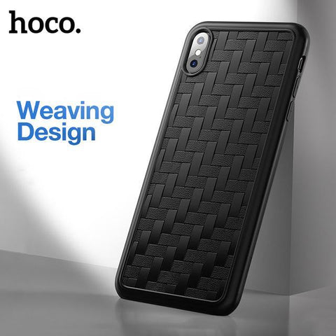 Hoco. ® iPhone X/XS Weave Pattern TPU Protective Case