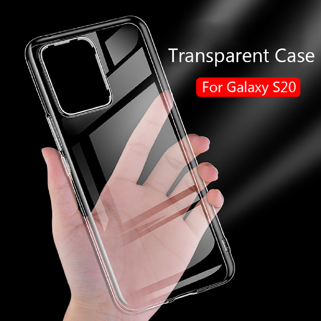 Galaxy S20 Anti knock Shockproof Clear Case