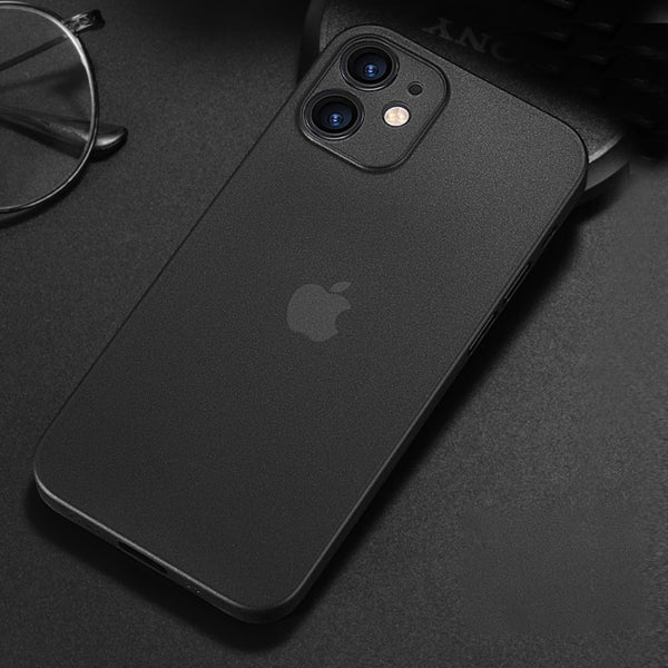 iPhone 12 Mini Ultra-Thin Matte Paper Back Case