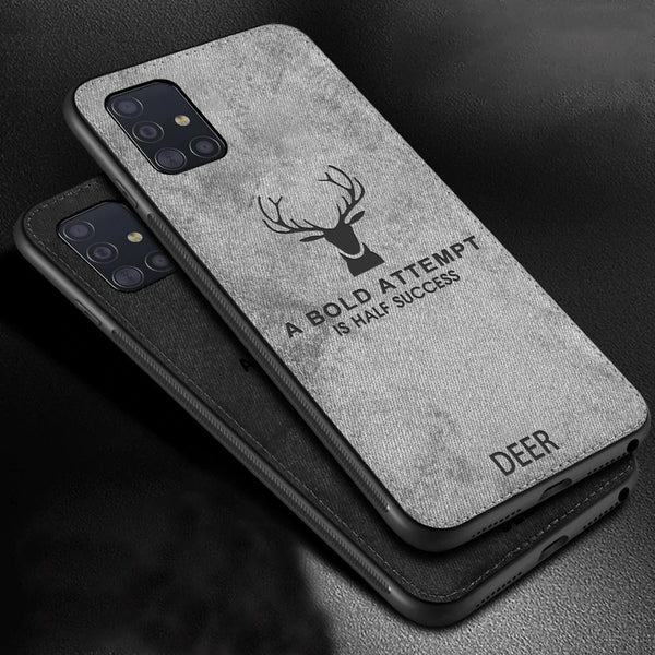 Galaxy Note Series Deer Pattern Inspirational Soft Case