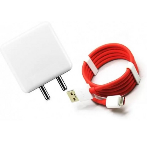 Original OnePlus Dash Power Adapter And Type-C USB Cable