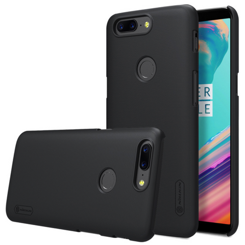 OnePlus 5T (3 in 1 Combo) Super Frosted Matte Case + Tempered Glass + Earphones