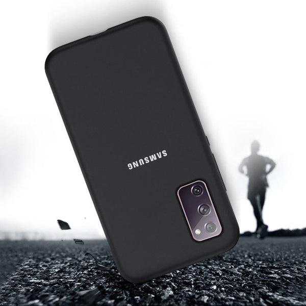 Galaxy S20 FE Silky Soft-Touch Silicone Logo Case