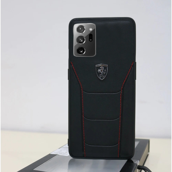 Ferrari ® Galaxy Note 20 Ultra Genuine Leather Crafted Limited Edition Case