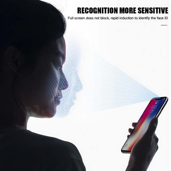 iPhone X 5D Tempered Glass Screen Protector [100% Original]