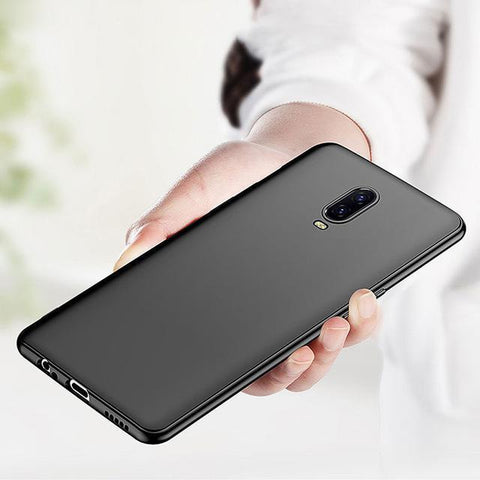 OnePlus 6T Ultra-Thin Matte Paper Back Case