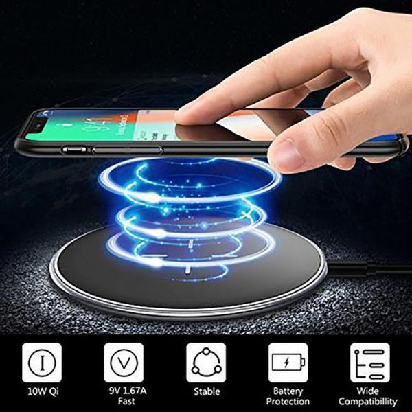 X-Doria 10W Pebble Qi Wireless Charger