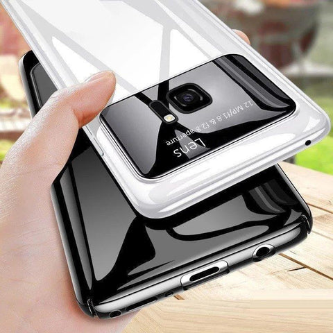Galaxy S7 Edge ( 3 In 1 Combo ) Polarized Lens Case + Tempered Glass + Earphones