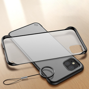 iPhone 11 Pro Max Luxury Frameless Transparent Case
