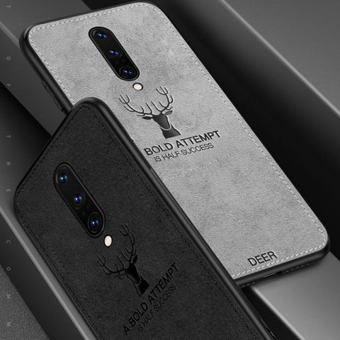 OnePlus 8 Deer (3 in 1 Combo) Deer Case + Camera Lens Guard + Earphones