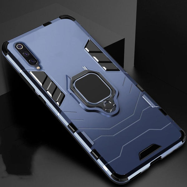 Galaxy A70s Ring Buckle Kickstand Case