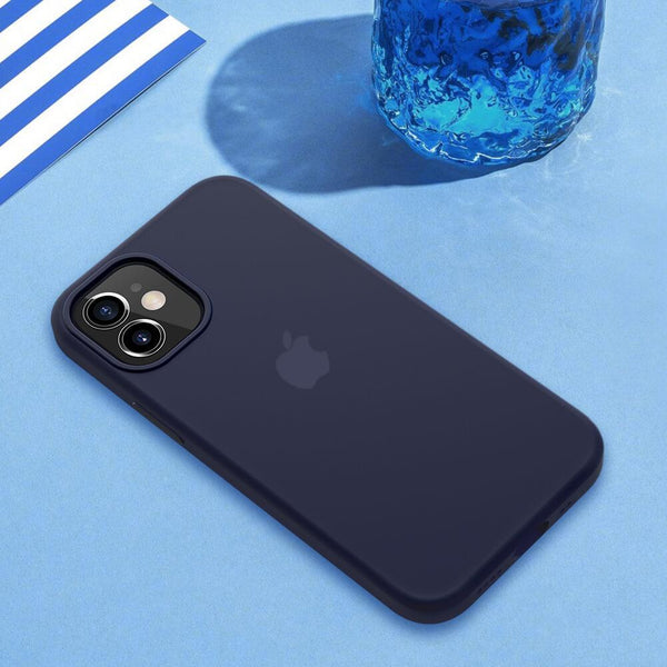 iPhone 12 Series Original Silicone Logo Case