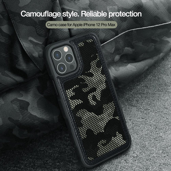 Nillkin ® iPhone 12 Pro Camouflage Pattern Cloth Case