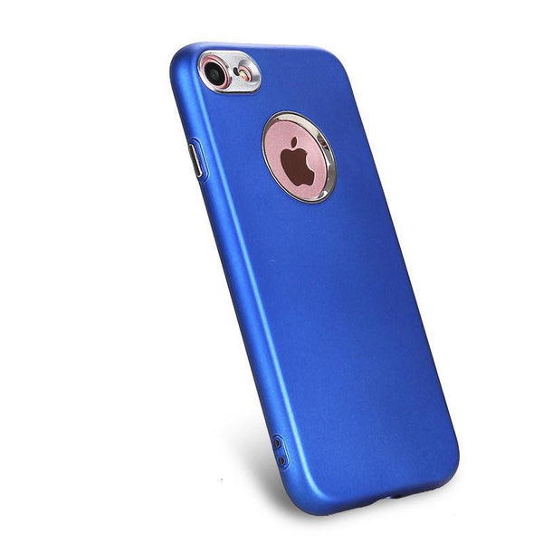 iPhone 6S Plus Soft Case with Metal Camera Lens Protection Case