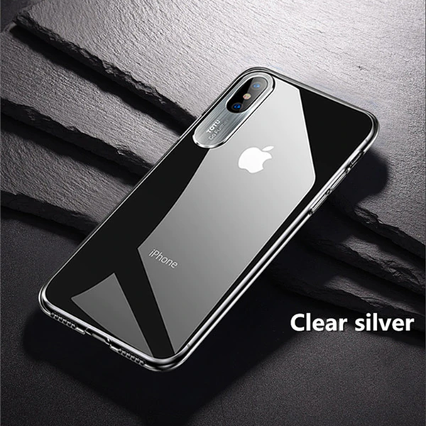 TOTU ® iPhone XS Max Clear Camera Protective Case
