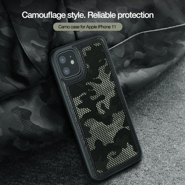 Nillkin ® iPhone 11 Camouflage Pattern Cloth Case