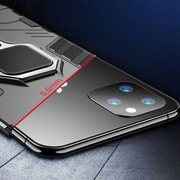 iPhone 11 Pro Ring Buckle Kickstand Case