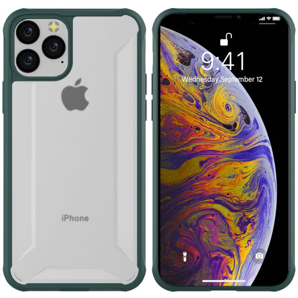Henks ® iPhone 11 Pro Max Anti Shock Transparent Case