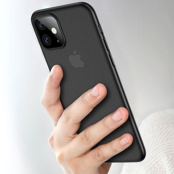 iPhone 11 Series (3 in 1 Combo) Paperback Case + Tempered Glass + Camera Lens Protector