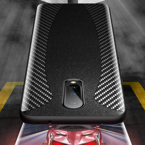 OnePlus 8 Mclaren Style Carbon Leather Texture Case