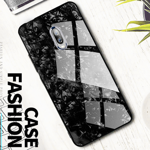 OnePlus 6T Dream Shell Series Textured Marble Case