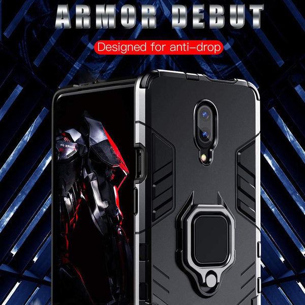 OnePlus 7 Ring Buckle Kickstand Case