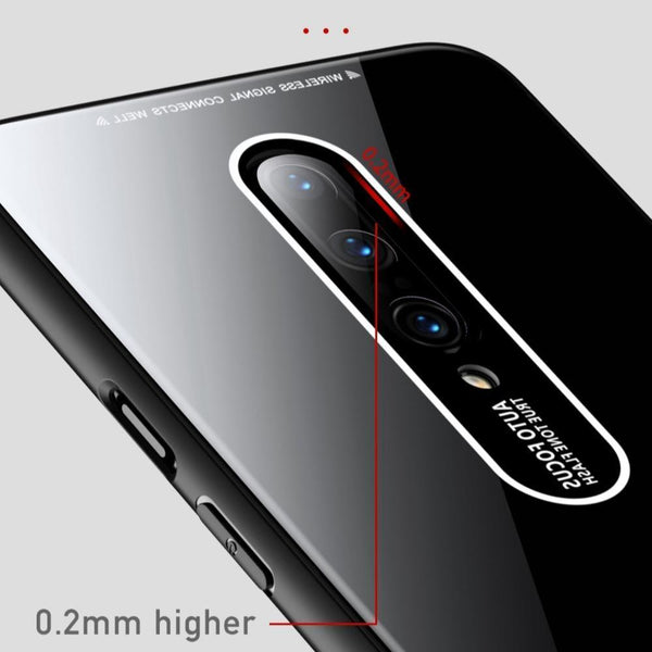 OnePlus 7 Pro Luxury Soft Edge Acrylic Case