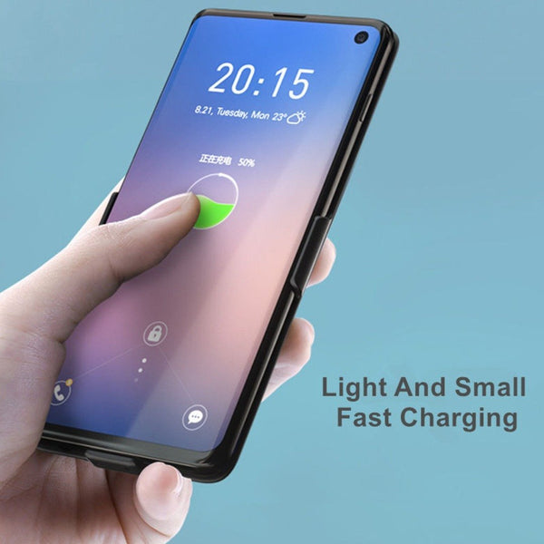 MK® Galaxy S10 JLW Portable 6000 mAh Battery Shell Case